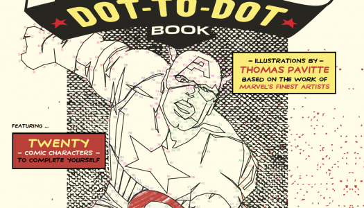 More Marvel Fun and Games: Marvel Partners with Ilex Press for Dot-to-Dot Books