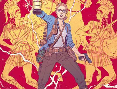 Greg Rucka and Bilquis Evley Explore Young Barbara Minerva aka The Cheetah in Wonder Woman #8