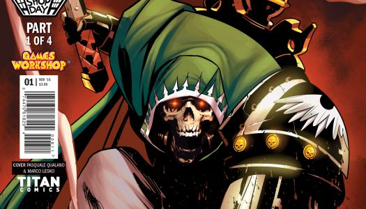 Titan Reveals Warhammer 40000: Will of Iron #1 Local Comic Shop Day Variant