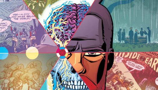 Review: Cave Carson Has a Cybernetic Eye #1 (Spoilers)