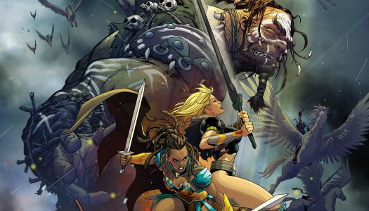 DC Announces The Odyssey of the Amazons and The Fall and Rise of Captain Atom