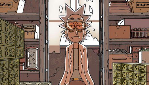 October 26th Oni Previews: Rick and Morty #19, and The Sixth Gun Finale