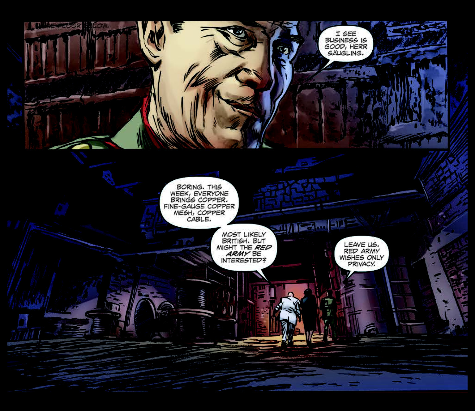 Archangel #3 a comic review by Benjamin Pineros
