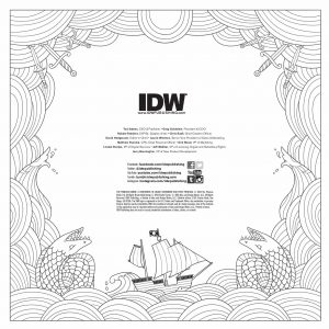 December 21st IDW Previews Princess Bride Coloring Book and More