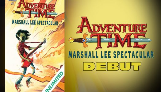 ComiXology Originals Debut Features Adventure Time Marshall Lee Spectacular