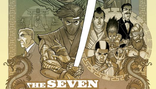 """Ninjak #23 Six Page Preview """"The Seven Blades of Master Darque"""" Part 1"""
