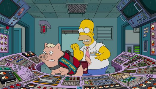 "The Simpsons S28E11 ""Pork and Burns"" (4 Pictures)"