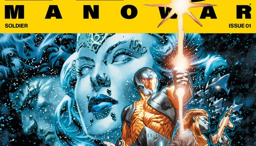 X-O Manowar #1 Six Page Lettered Advance Preview