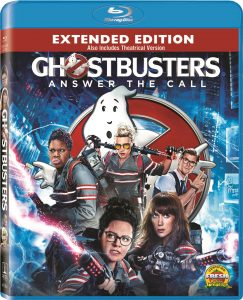 Blu-ray packaging for Ghostbuster (2016) Extended Edition