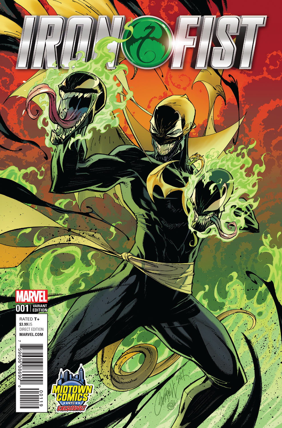Opinion book of iron fist variant does