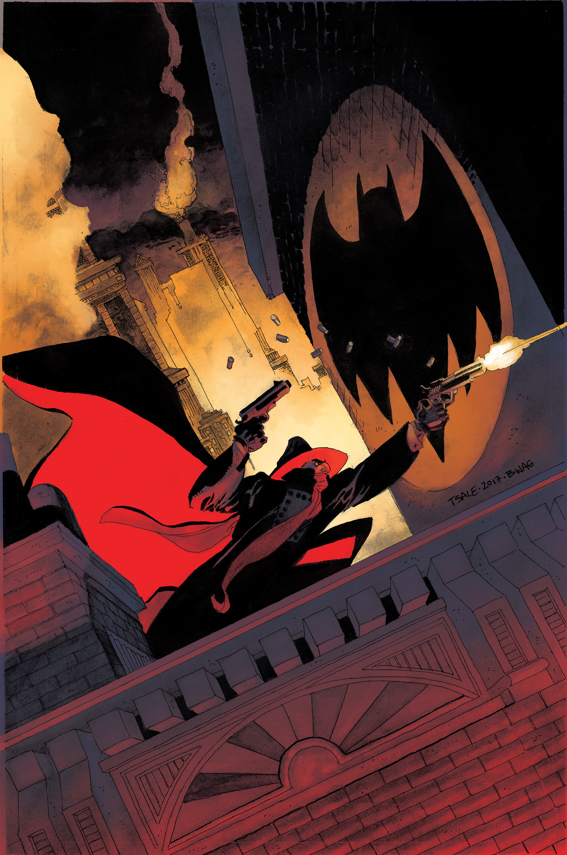 batman  the shadow  2 six page advance preview