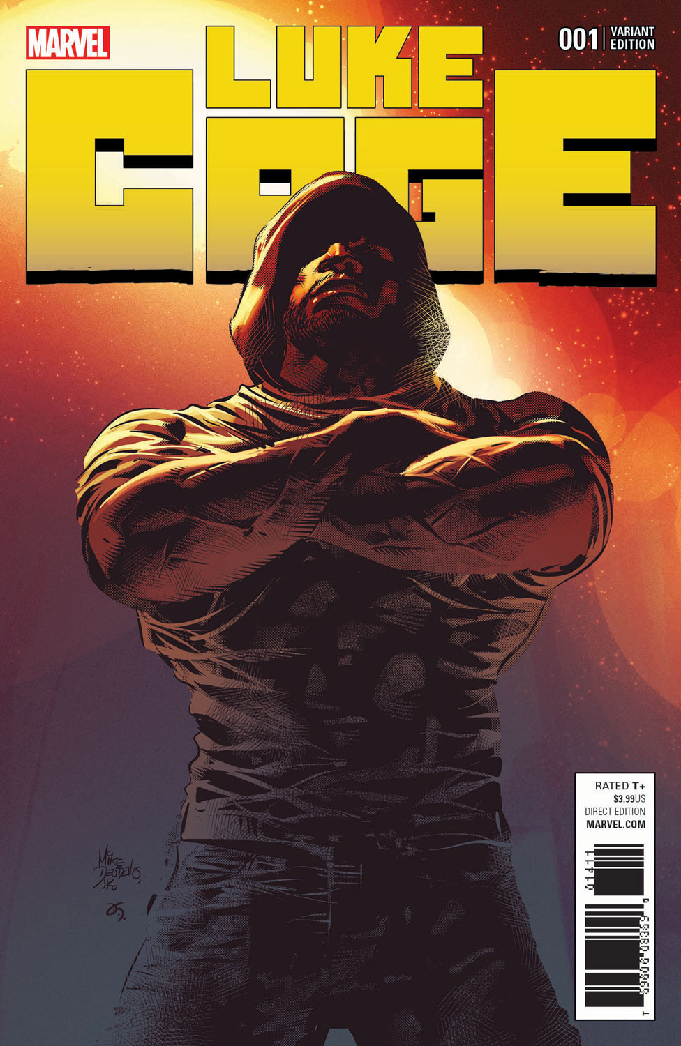 Cover for Luke Cage