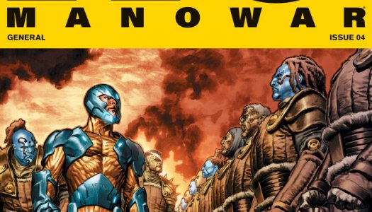 X-O Manowar #4 Five Page Advance Preview