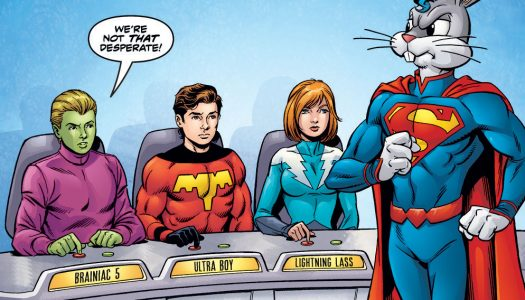 Legion of Super-Heroes Bugs Bunny Special #1 Advance Preview