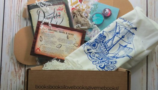 OwlCrate March 2017 – SAILORS, SHIPS, & SEAS [review]