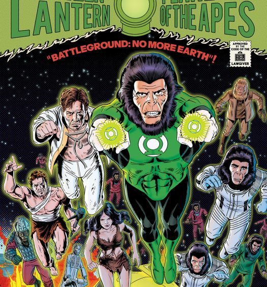 Planet of the Apes/Green Lantern #5
