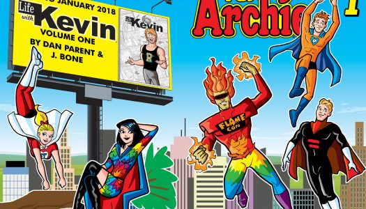 Flame Con Dan Parent Variant for Your Pal Archie #1 Revealed