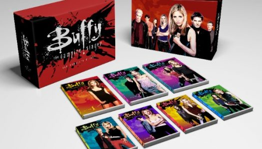 Buffy the Vampire Slayer and Firefly Anniversary Boxed Sets Arrive September 19th