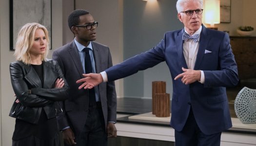 The Good Place Season Two Photos: Eleanor, Chidi, Janet, and Michael are Back