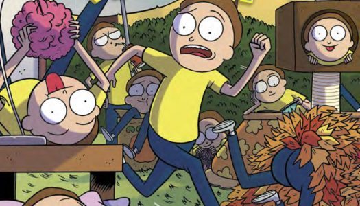 August 16th Oni Previews: Rick and Morty Pocket Like You Stole It #2, Kaijumax S3 #2, and More