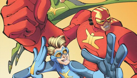 Stretch Armstrong And the Flex Fighters #1 to Tie-In to Netflix Series