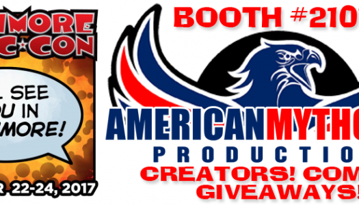 American Mythology at Baltimore Comic-Con: Signings, Panels, Trading Cards