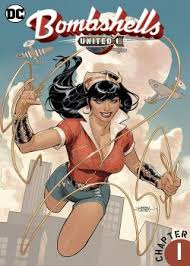 Bombshells United Issue 1 Cover