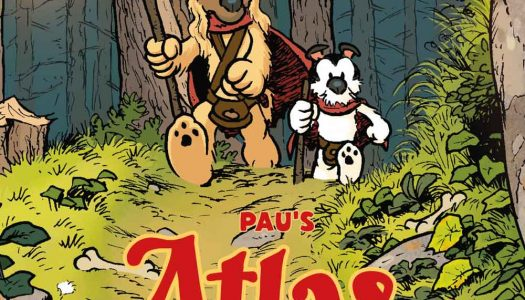 Atlas & Axis English Translation Announced by Titan's Statix Press at NYCC
