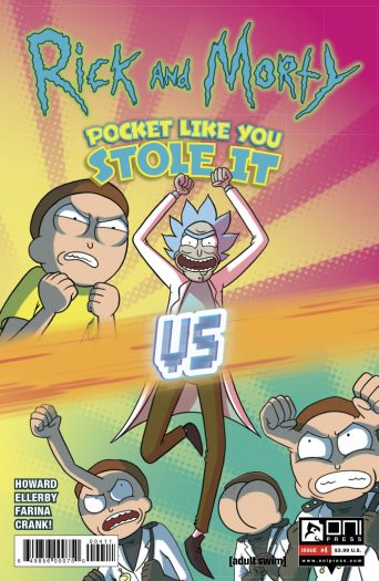 Rick and Morty: Pocket Like You Stole It #4