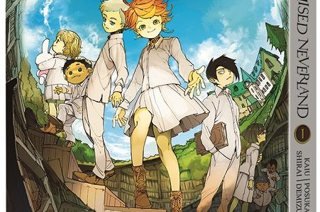 The Promised Neverland Arrives in Print on December 5th