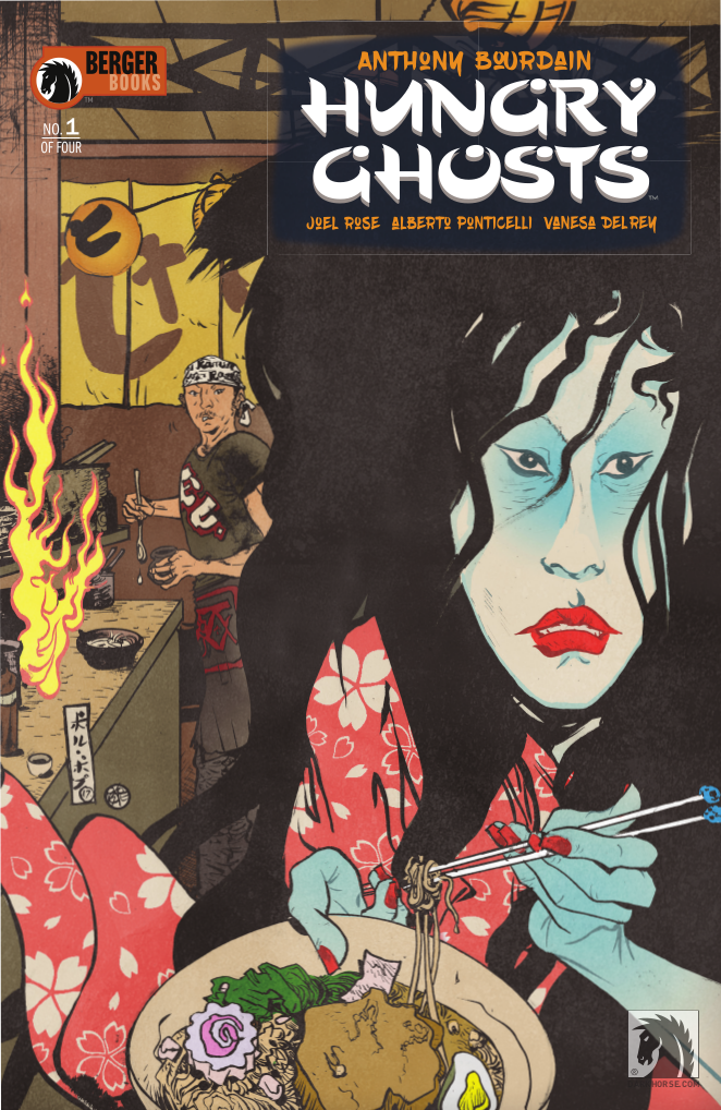 Cover of Hungry Ghosts #1