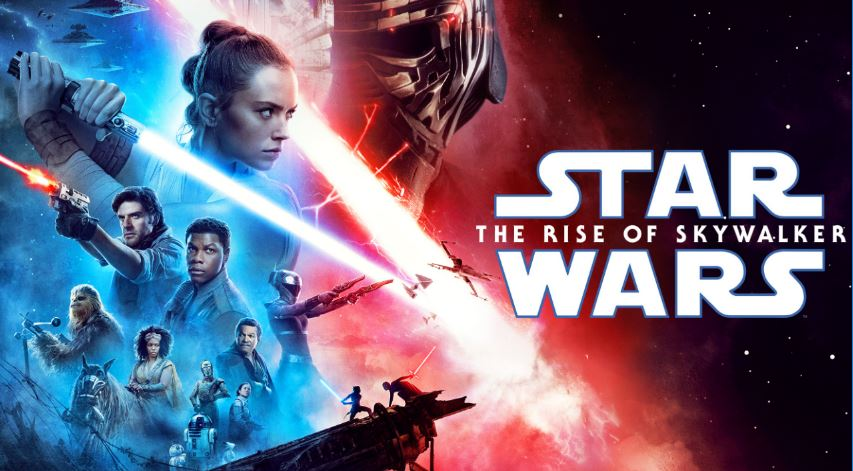 The Rise of Skywalker poster, starring Daisy Ridley.